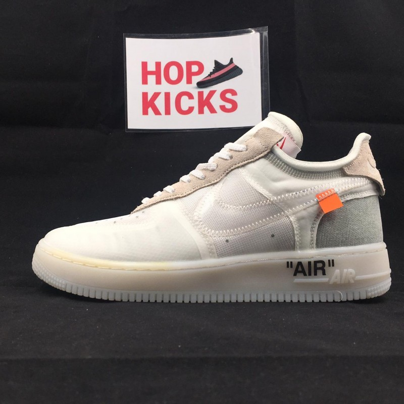 hot sales c197b 3fa26 Air Force 1 Low X Off-White Ghosting