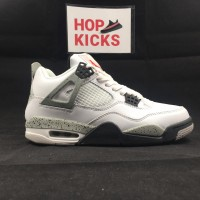 Air Jordan 4 White Cements