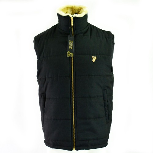 VRSC Padded Sleeveless Jacket Black