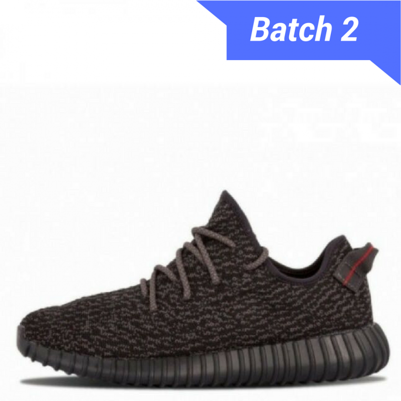 Yeezy Boost 350 Pirate Black [Dot Perfect Version]