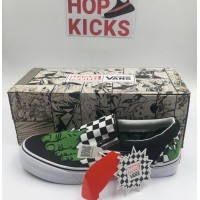 Vans Marvel HULK/Checkerboard Slipons [ DOT PERFECT VERSION ]