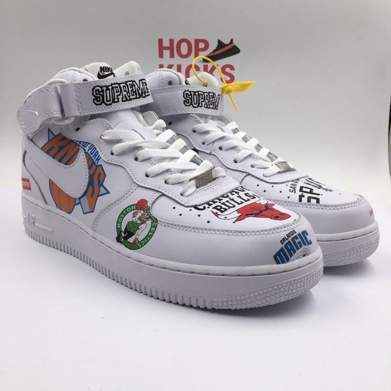separation shoes 6fcfc d4cb0 Air Force 1 X NBA X Supreme Mid '07