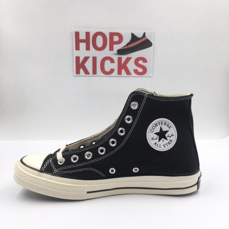 low cost 8ab54 29e2e 1970S Converse Chuck Taylor All Star 1970s High OX Heritage Court Canvas  Black  Top batch