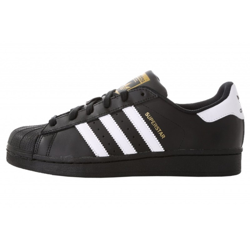 new product 3457f 4630d Adidas Superstar Black