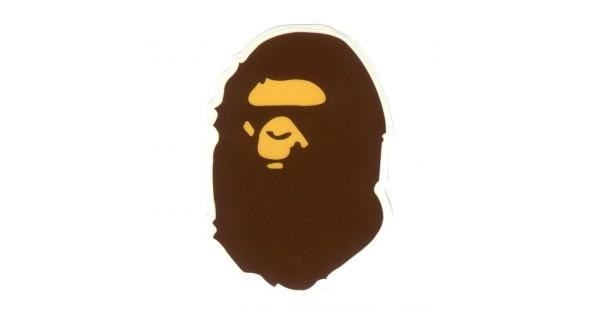 Bape X Kaws >> A Bathing Ape BAPE Logo Stickers - Pack of 10