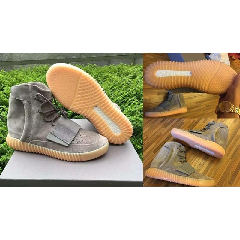 finest selection 64b5b 50984 Adidas Yeezy Boost 750 Grey Gum (Glow in The Dark)