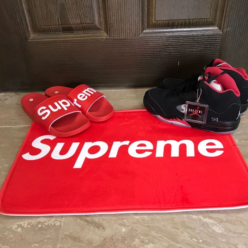Supreme Red Mat Hype Beast Room Decor