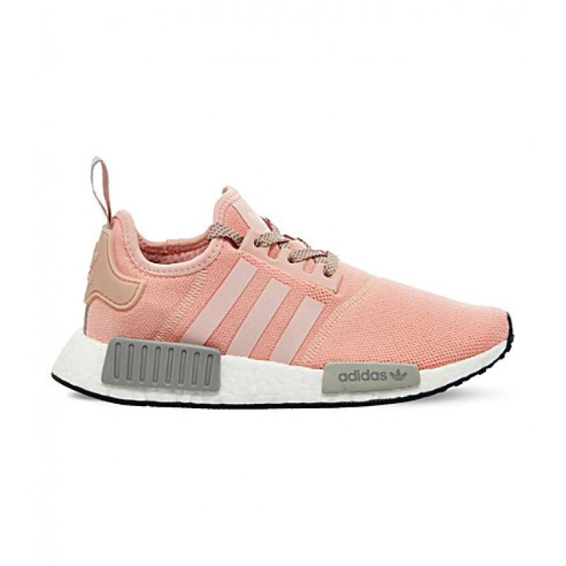 low priced e5011 eb16d Adidas NMD R1 Runner Vapor Pink Light Onix Grey Offspring [ REAL BOOST  CUSHIONING ]