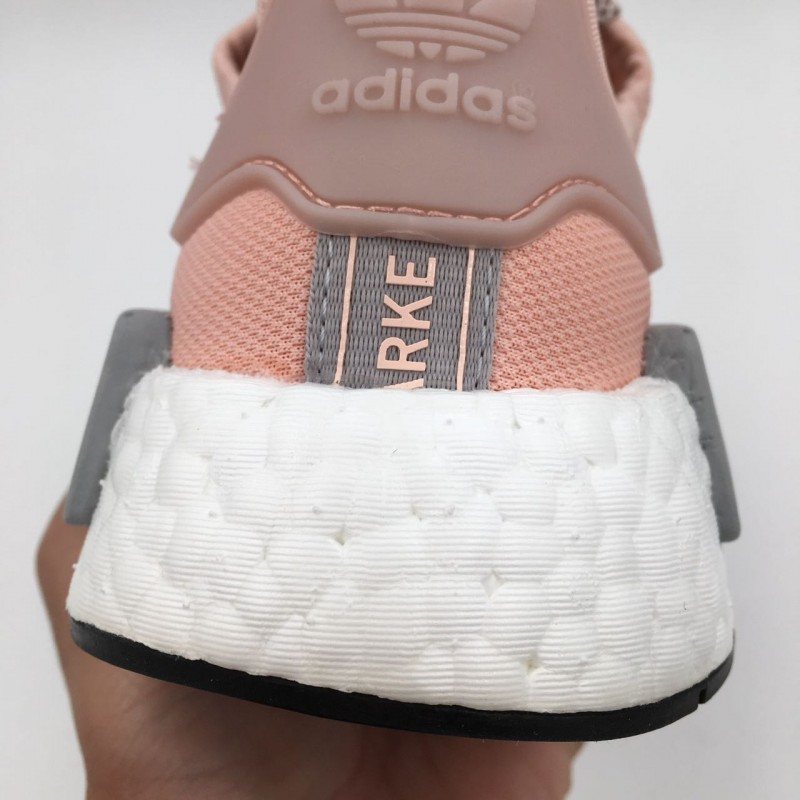 b7365f81d0954 Adidas NMD R1 Runner Vapor Pink Light Onix Grey Offspring   REAL BOOST  CUSHIONING