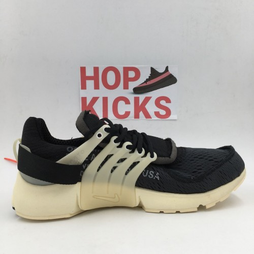 Off White x Air Presto Black White