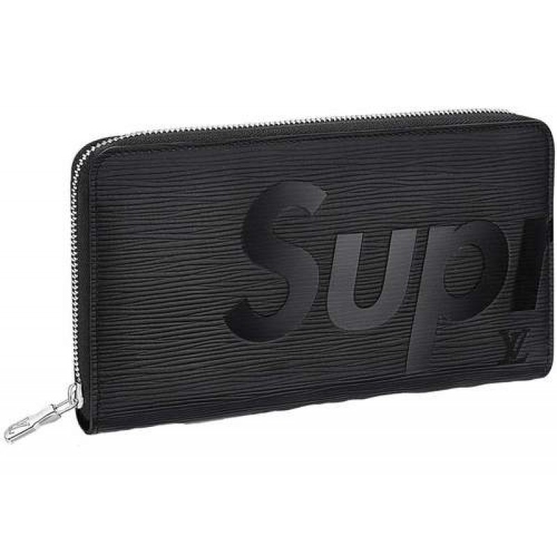 042674dd91d Supreme x Louis Vuitton Brazza Wallet Black [ MARKET VALUE 1300$]
