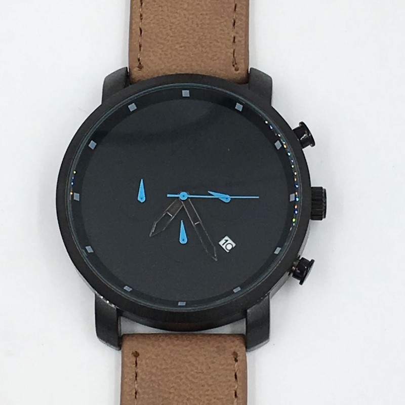 products wholesale brown light plating company male from case quartz tangwatch leather s silver naviforce strap males seiko watches