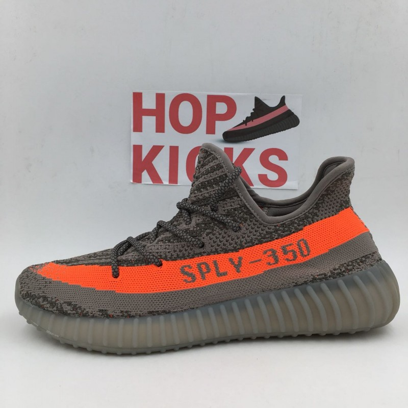 sports shoes 11753 9fe14 Yeezy Boost 350 V2 grey/solar red Beluga [PREMIUM MATERIALS]
