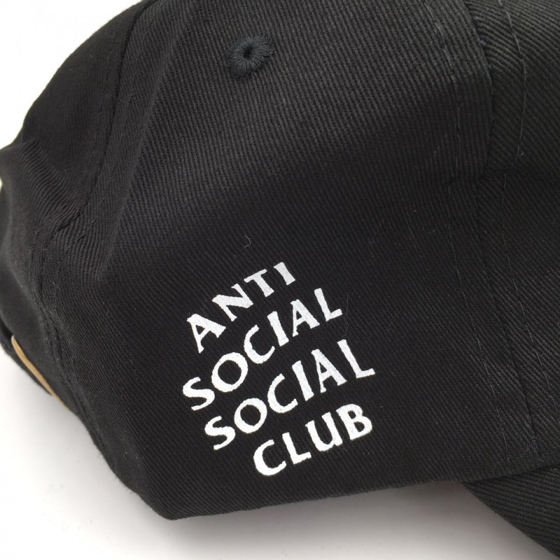 Anti Social Club Black Cap