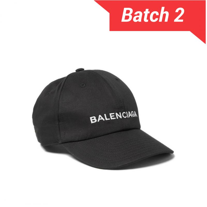 7e0289f2ce8 balenciaga black cap