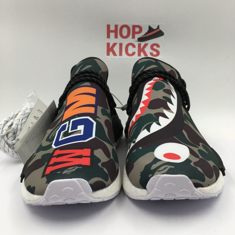 best service cd31f ea443 Bape x Pharrell Williams x Adidas NMD Human Race Real Boost [ Dot Perfect  Versions ]