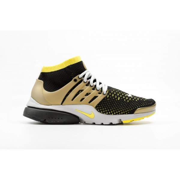 Nike Air Presto Ultra Flyknit Black Yellow
