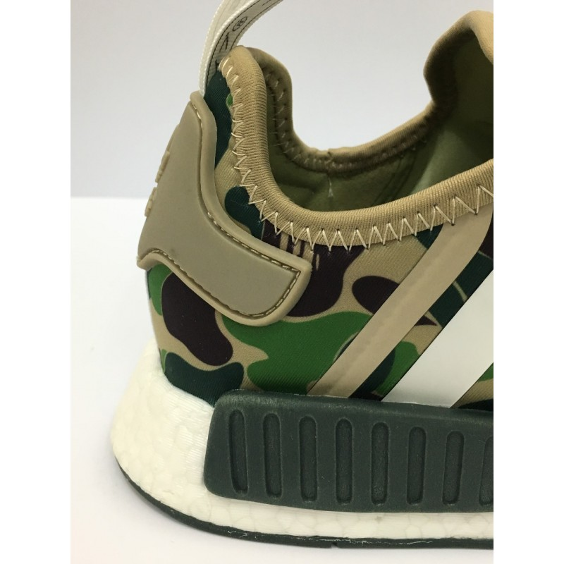 buy online c487a a1899 NMD Bape x Adidas Green DOT PERFECT VERSION [REAL BOOST/PREMIUM MATERIALS]