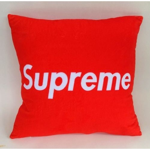 Supreme Pillow Cover [ HYPE BEAST ROOM DECOR ]