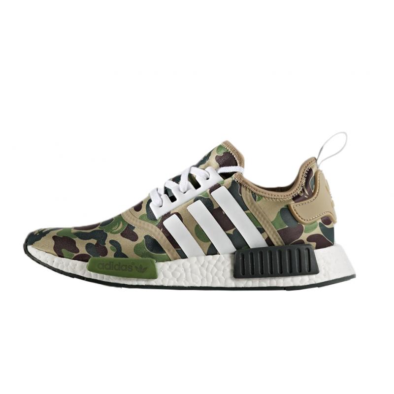 597160d8a NMD Bape x adidas R1 Green