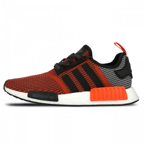 size 40 d1e04 52403 Adidas NMD Runner R1 Lush Red Black