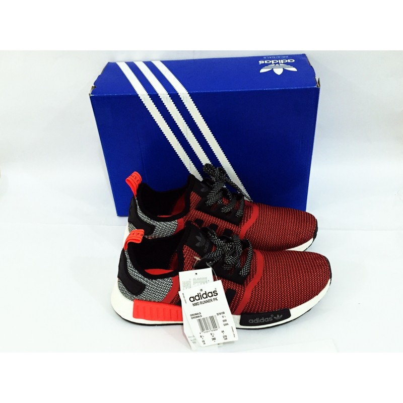 d9d8ce515 Adidas NMD Runner R1 Lush Red Black