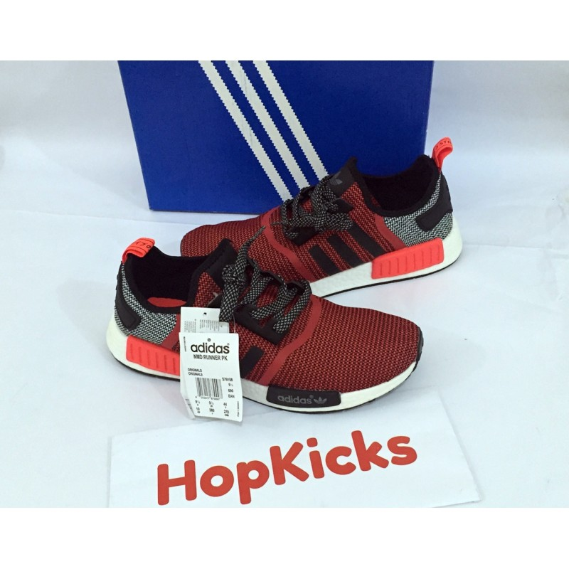 size 40 9d2e5 91941 Adidas NMD Runner R1 Lush Red Black
