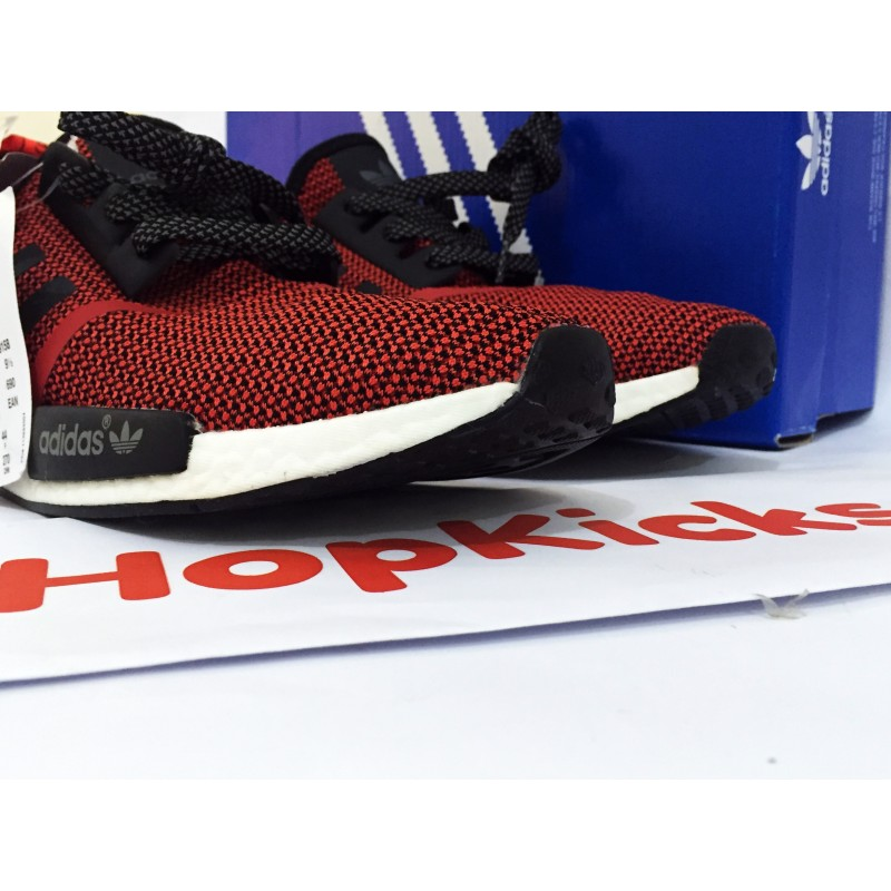 size 40 fb894 2556e Adidas NMD Runner R1 Lush Red Black